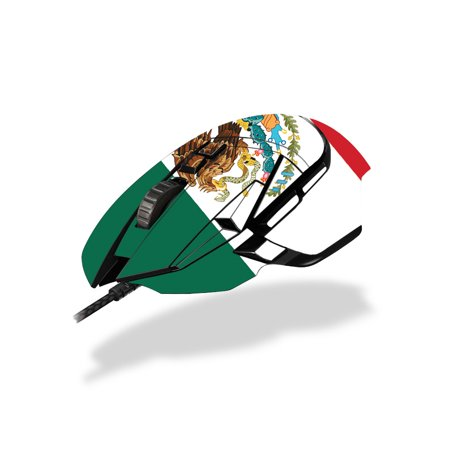 Skin For Logitech G502 Hero / Proteus Spectrum Gaming Mouse - Mexican Flag | Protective, Durable, and Unique Vinyl Decal wrap cover | Easy To Apply