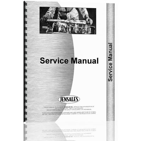 New Le Tourneau Model C  V Power  Tractor Scraper Chassis Only Service Manual