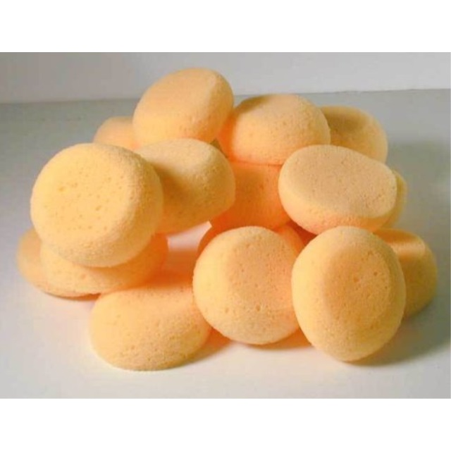 """Creative Hobbies® 2.5"""" Round Synthetic Silk Sponges for Painting, Crafts & More! Pack of 25 Sponges"""