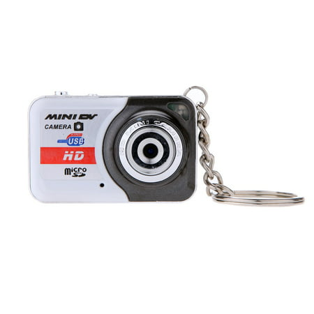 X6 Portable Ultra Mini High Denifition Digital Camera Mini DV Support 32GB TF Card with Mic
