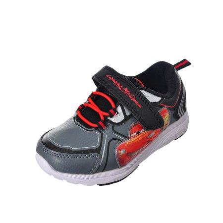 (Disney Cars Boys' Light-Up Sneakers (Sizes 6 - 12))