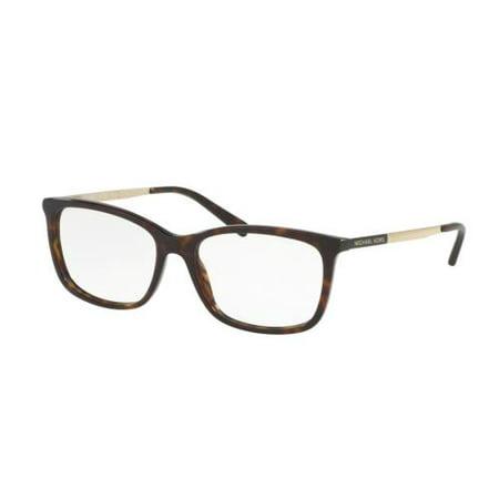 MICHAEL KORS Eyeglasses MK4030 VIVIANNA II 3106 Dark Tortoise/Gold 54MM (Black Michael Kors Frames)