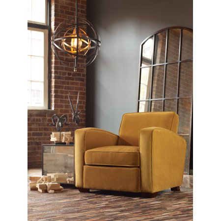elegant and trendy style somac gold armchair living room