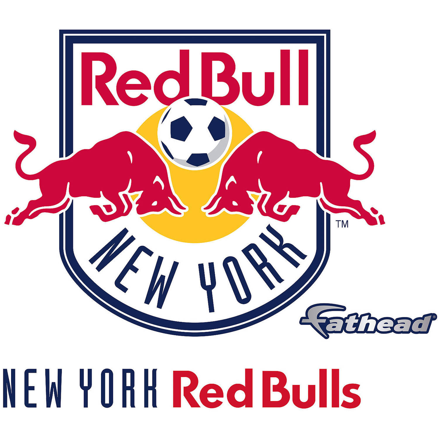 Fathead New York Red Bulls Teammate Logo