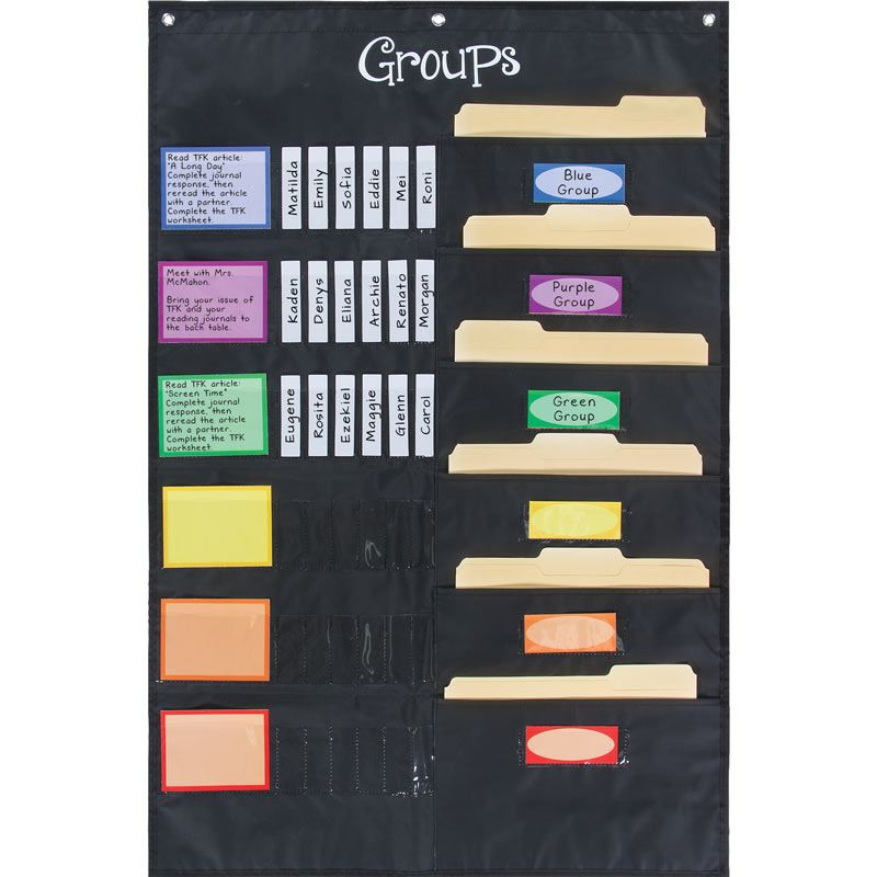 Small Group Management Pocket Chart™