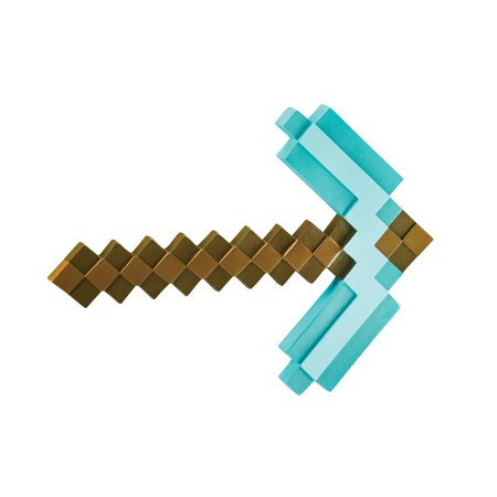 Minecraft Pickaxe Adult Halloween Accessory](A Minecraft Halloween)