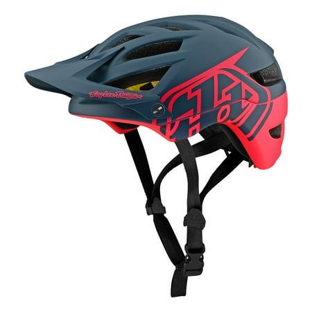 Troy Lee Designs 2019 A1 Classic MIPS Bicycle Helmet - Slate/Magenta