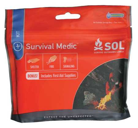 ADVENTURE MEDICAL 0140-1747 Survival Tool,5-1/4in.H,5-1/2in.W,1in.D