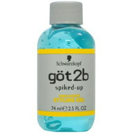 Got2b Spiked Up Styling Gel - got2b Spiked-Up Max-Control Styling Gel 2.50 oz