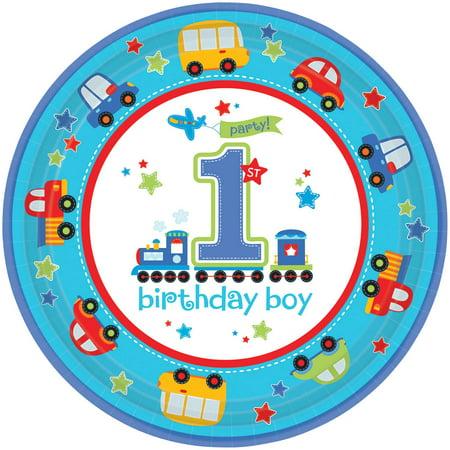 All Aboard 1st Birthday 10 1/2
