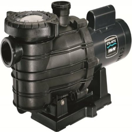 Pentair Sta-Rite MPEA6F-206L Dyna-Pro Energy Efficient Single Speed Up Rated Self-Priming Pool and Spa Pump with Easy Off Lid, 1-1/2 HP,
