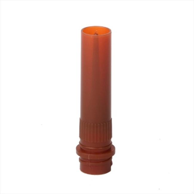 Bio Plas 4201 Conical . 5mL, With Skirt Screw Cap Microcentrifuge Tube - 1000 pk - Amber