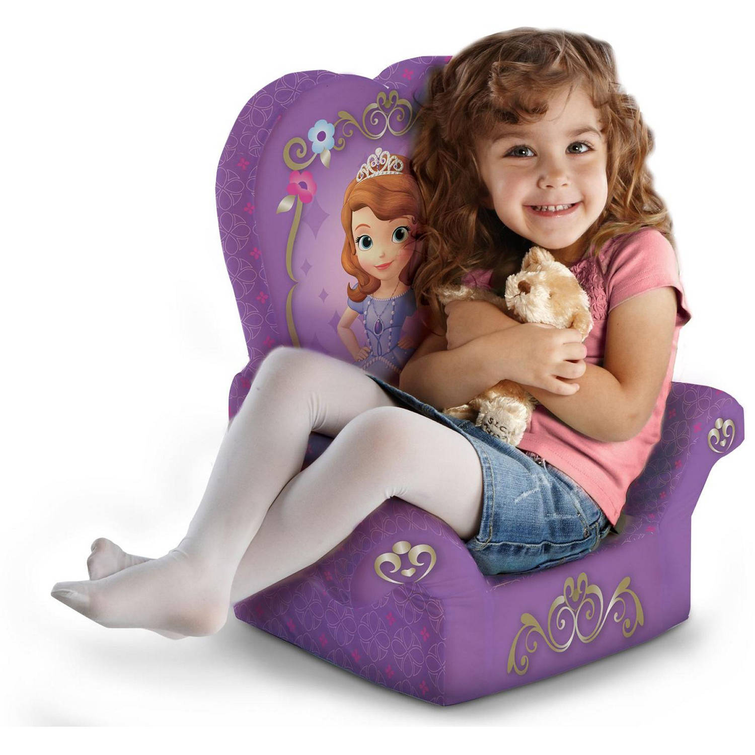 Marshmallow High Back Chair, Disney Sofia the First