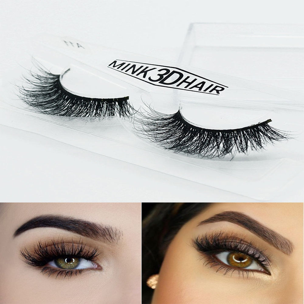 Hot Sale 3d Mink False Eyelashes Layered Wispy Lillymiamiparty