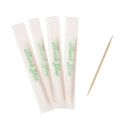 Royal Mint Invididually Wrapped Toothpicks, 500 Ct