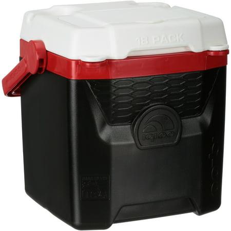 Igloo® Quantum™ 12 Quart Black Personal (Ice Boxer)