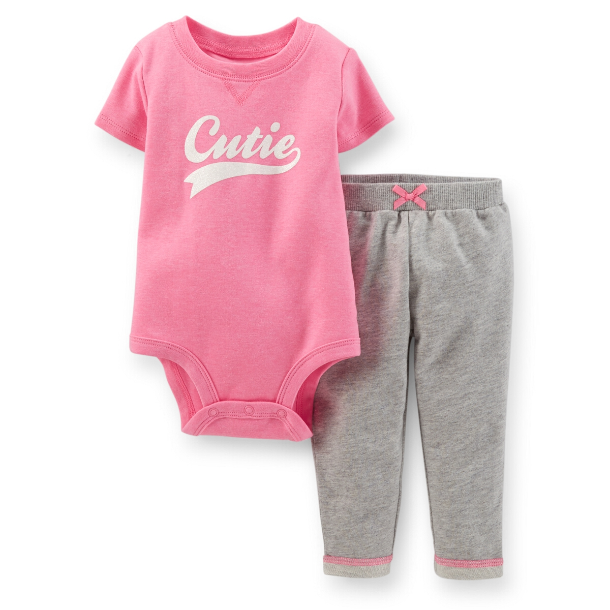 Carters Baby Clothing Outfit Girls 2 Piece Bodysuit