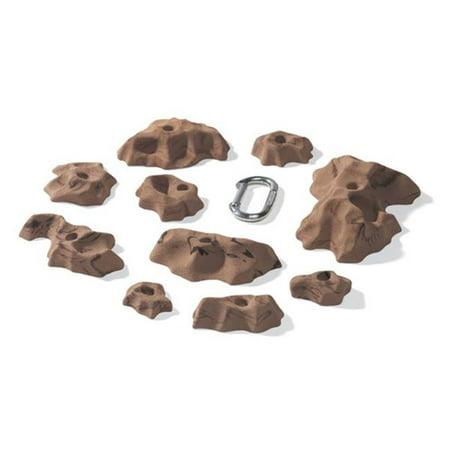 Nicros HHU Medium Tissue Tiger Handholds - Brown