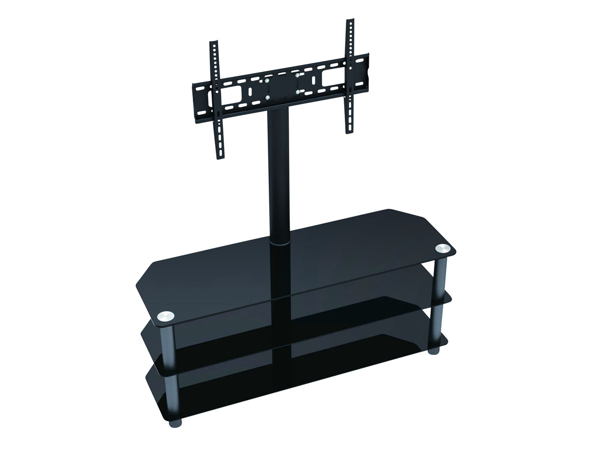 Floor tv stands for 55 inch flat screens - High Quality Tv Stand With Mount For Flat Panel Tvs Up To 55 Inches