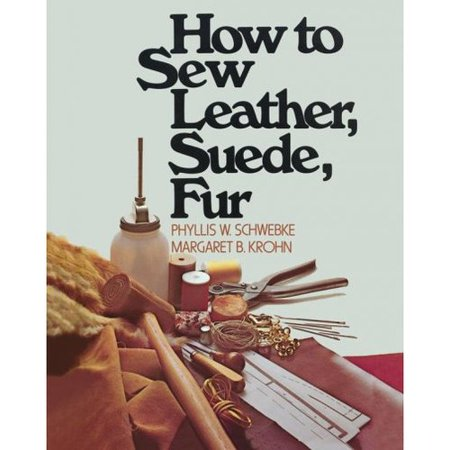 How to Sew Leather Suede and Fur