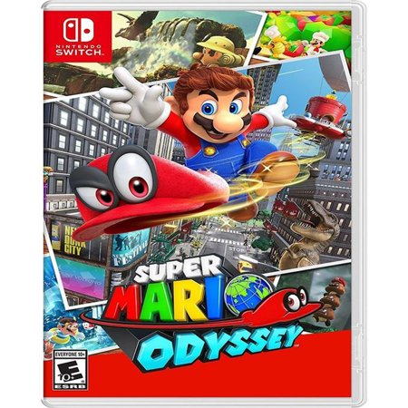 Super Mario Odyssey, Nintendo, Nintendo Switch, 045496590741](Super Paper Mario Fire Tablet)