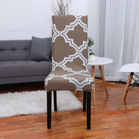 Dining Chair Cover Stretch Bar Stool Slipcover Kitchen Chair ...