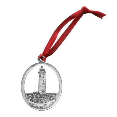 Lighthouse Ornament (Pewter Lighthouse)