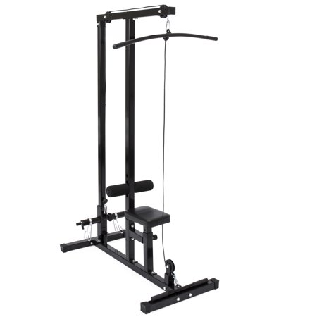 Best Choice Products Low Row Cable Lat Pull Down (Best Lat Exercises At Home)
