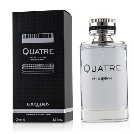 (pack2)Quatre Cologne By Boucheron Eau De Toilette Spray3.4 oz Quatre Cologne by Boucheron, Tradition and innovation marry in boucheron's quatre cologne for men. For over a century, boucheron's creativity and craftsmanship have found expression in fine jewelry, timepieces, perfumes and colognes. Created in 2015, this fresh scent continues boucheron's legacy of making products that are both timeless and modern.