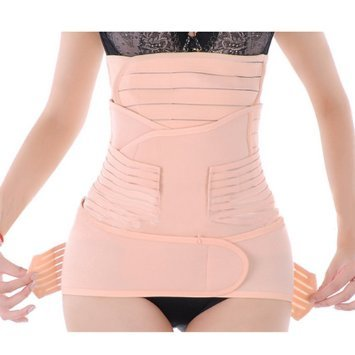 a726b74624c88 Generic Women 3 in 1 Postpartum Girdle Abdominal Binder with Pelvis Belt  Gastric Belt Combined Breathable