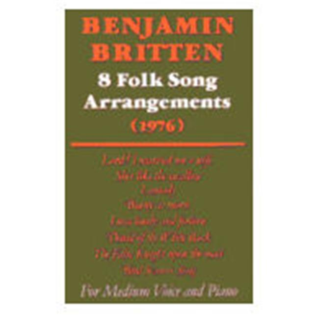Alfred 12-0571505767 Eight Folk Songs - Music Book