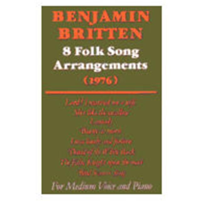 Alfred 12-0571505767 Eight Folk Songs - Music Book