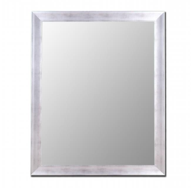 2nd Look Mirrors 200103 36x46 Vintage Silver Mirror by 2nd Look Mirrors