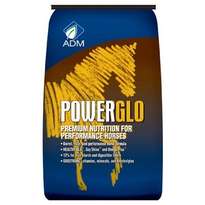 Champion Pellet - Adm Animal Nutrition 50LB PowerGlo Pellet