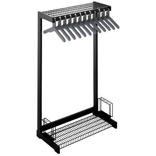 Magnuson Group Office Rak Floor Rack with Boot Shelf and Umbrella Holder