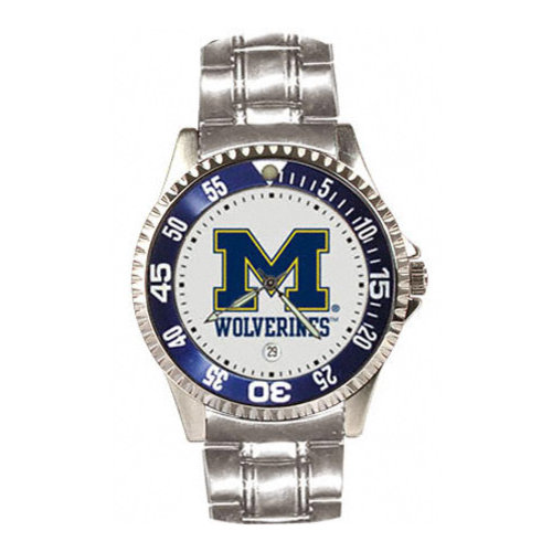 NCAA - Michigan Wolverines Competitor Steel Watch
