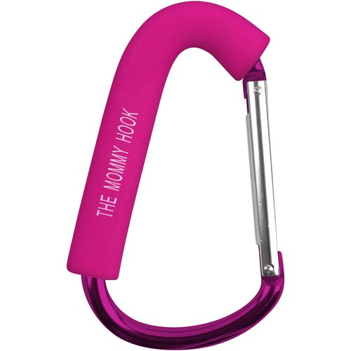 The Mommy Hook Stroller Hanger, Pink