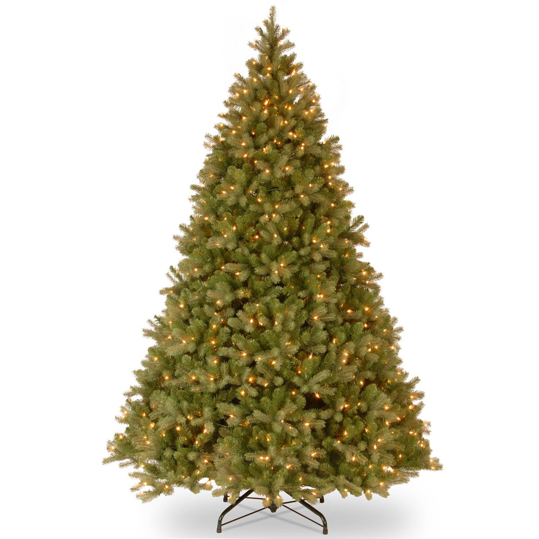 Pre Lit Christmas Tree Fuses: National Tree Pre-Lit 7-1/2' Feel-Real Frasier Grande