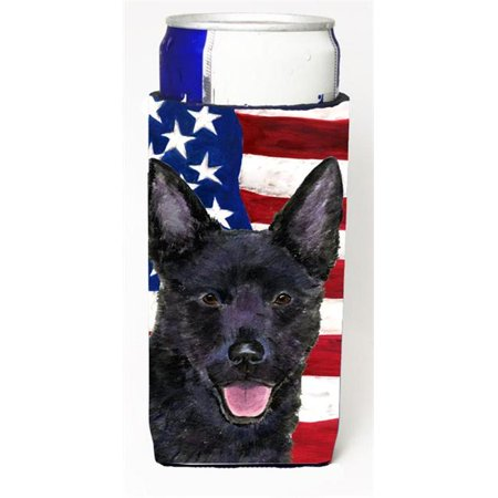 Usa American Flag With Australian Kelpie Michelob Ultra s For Slim Cans - 12 oz. - image 1 de 1