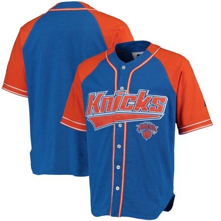 buy online d2f14 54203 New York Knicks Starter Baseball Jersey - Royal/Orange