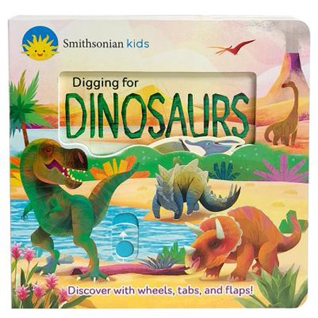 Digging for Dinosaurs (Smithsonian Kids) (Board Book) - Dino Dig
