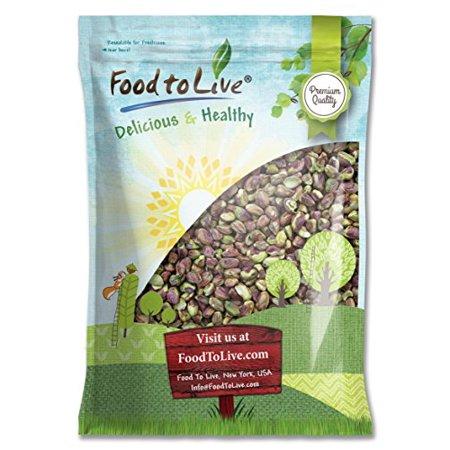 Raw Pistachio (Pistachio Kernels, 9 Pounds - Kosher, Raw, Vegan - by Food to Live)