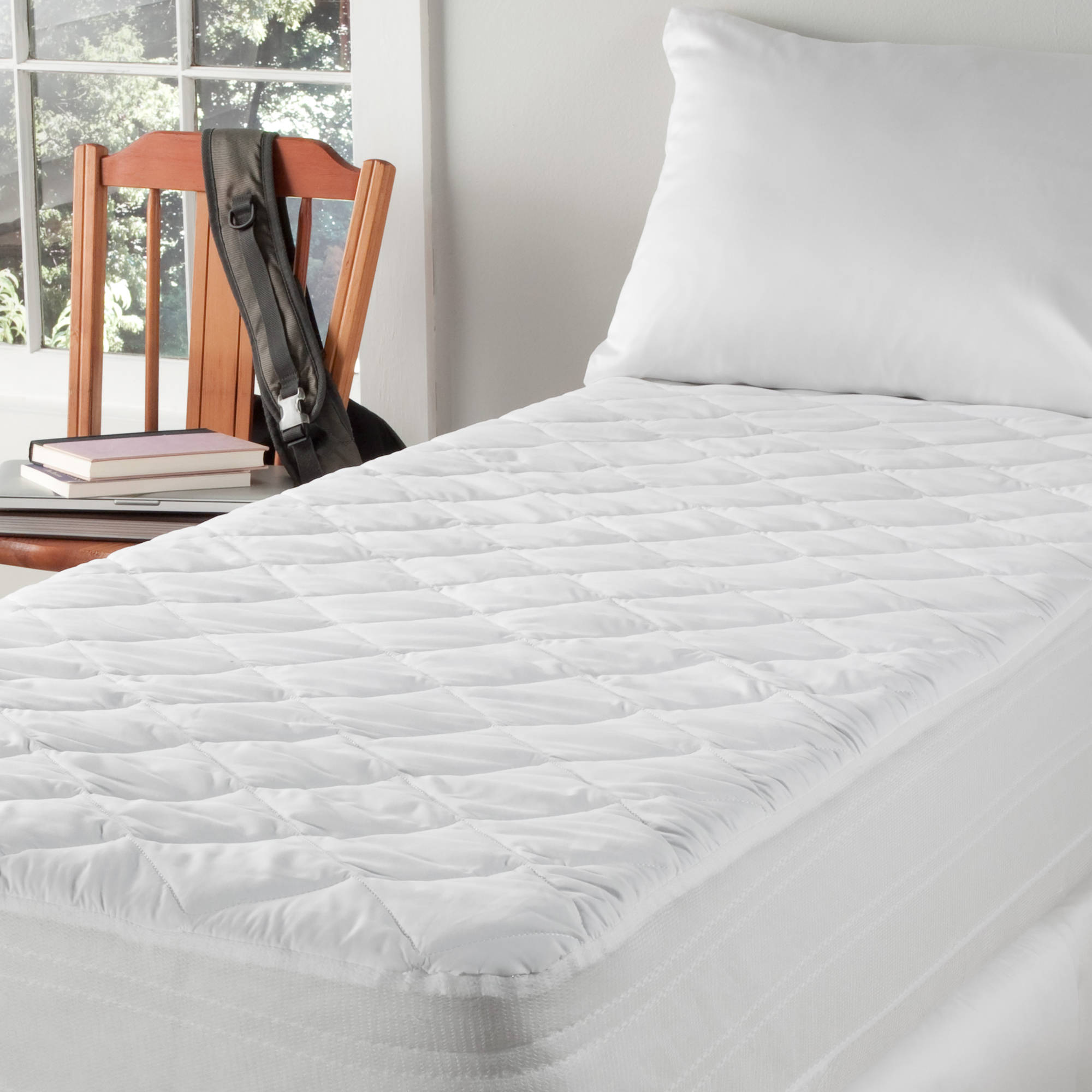 Twin Xl Dorm Mattress Waterproof Protector Pad And Cover