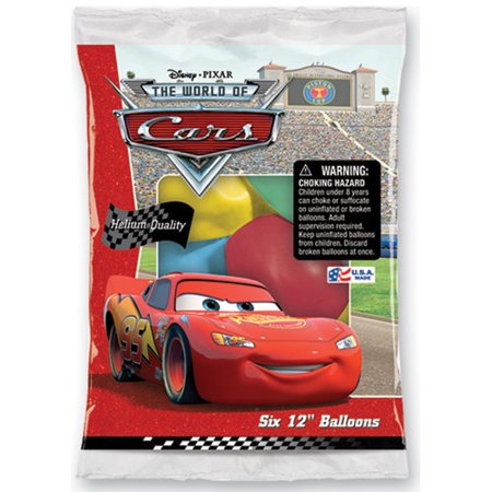 Disney Ballons (Set of 6 Disney Cars 12