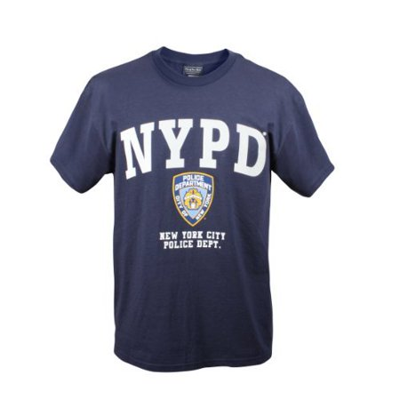 OFFICIALLY LICENSED NYPD T-SHIRT - MED