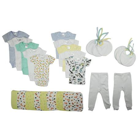 Bambini Baby Shower Layette Gift Set, 26pc (Baby Boys) - Idee Costumi Halloween Bambini