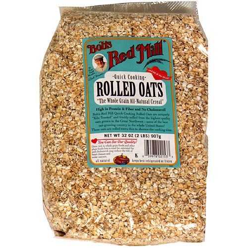 Bob's Red Mill Rolled Oats Hot Cereal, 32 oz  (Pack of 4)