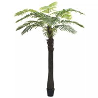 "Artificial Palm Tree with Pot 122"" Green"