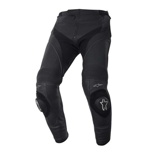 Alpine stars Missile Mens Leather Pants Black