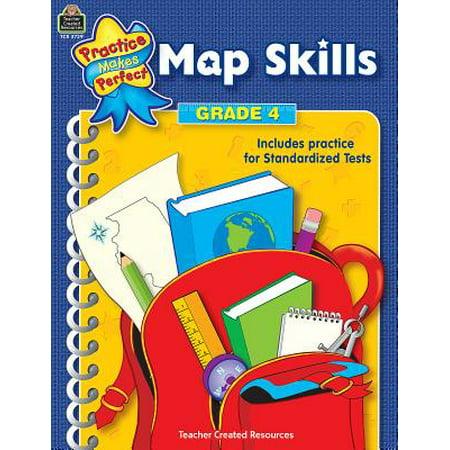 Map Skills Grade 4 - Halloween Map Skills